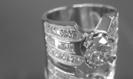 Platinum Ring U