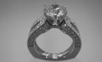 Platinum Ring W