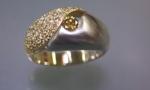 Mixed Metal Ring U